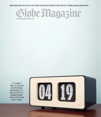 Globe Magazine, 23 October 2016