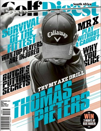 Golf Digest South Africa, October 2017 - Thomas Pieters