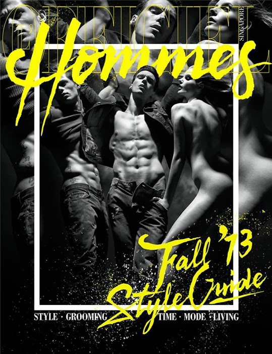 L'Officiel Hommes, Fall 2013