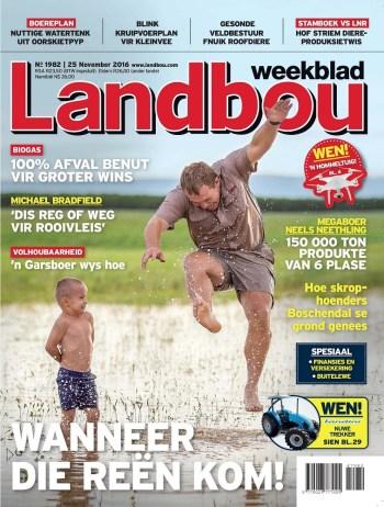 Landbou Weekblad, 25 November 2016