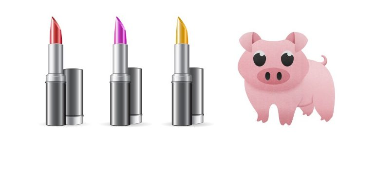 Lipstick pig images courtesy of FreeDigitalPhotos.net