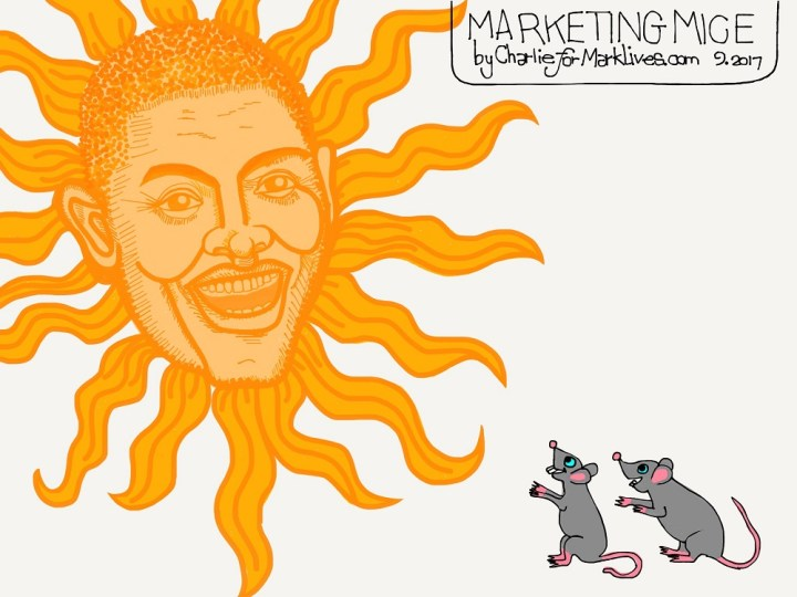 Marketing Mice 2017 09 19 Trevor Noah Emmy - cartoon