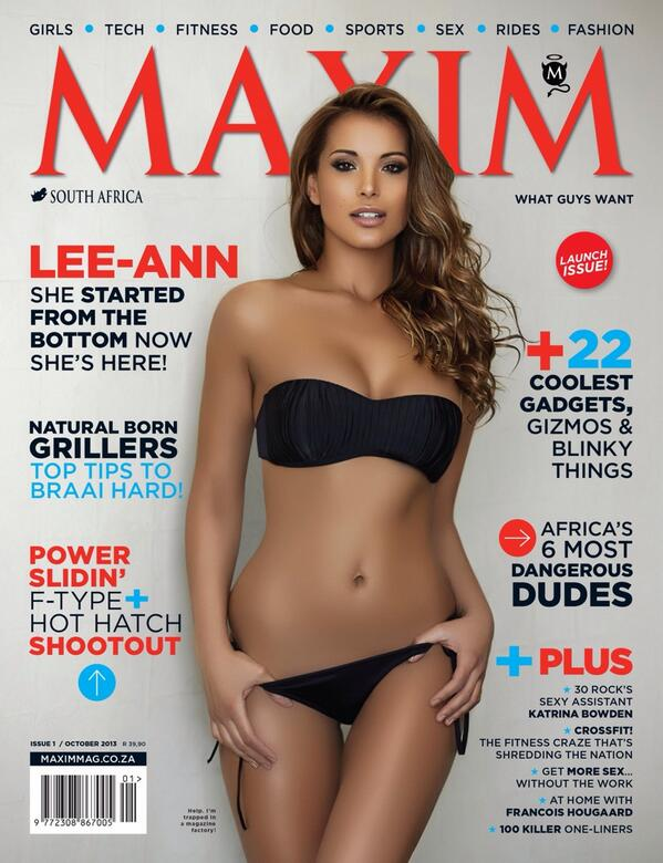MAXIM South Africa, October 2013