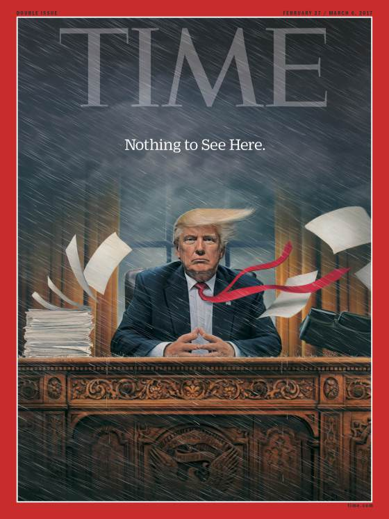 Maglove the best magazine covers this week 24 february for Donald trump favorite books