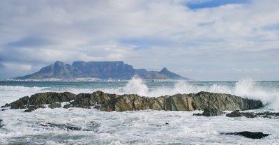 Table Mountain ocean sky Cape Town courtesy of Pixabay