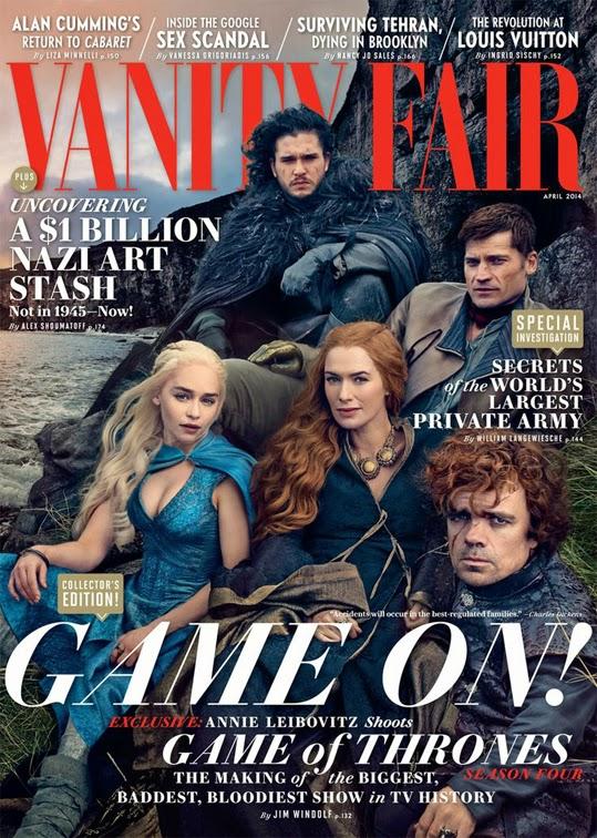 Vanity Fair, April 2014