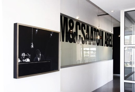 M&C Saatchi Abel office with logo