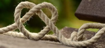 rope knitting heart love together courtesy of Pixabay