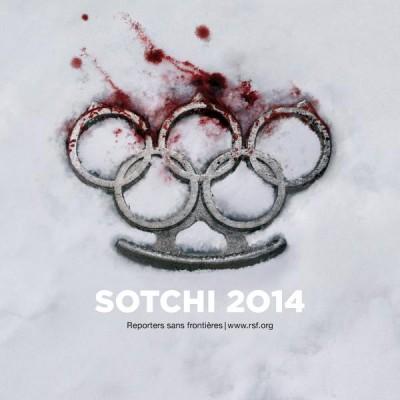 Reporters sans frontieres, Sotchi 2014