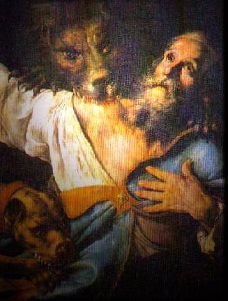 St. Ignatius of Antioch, taken from www.markmallet.com