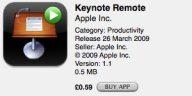 App - keynote remote