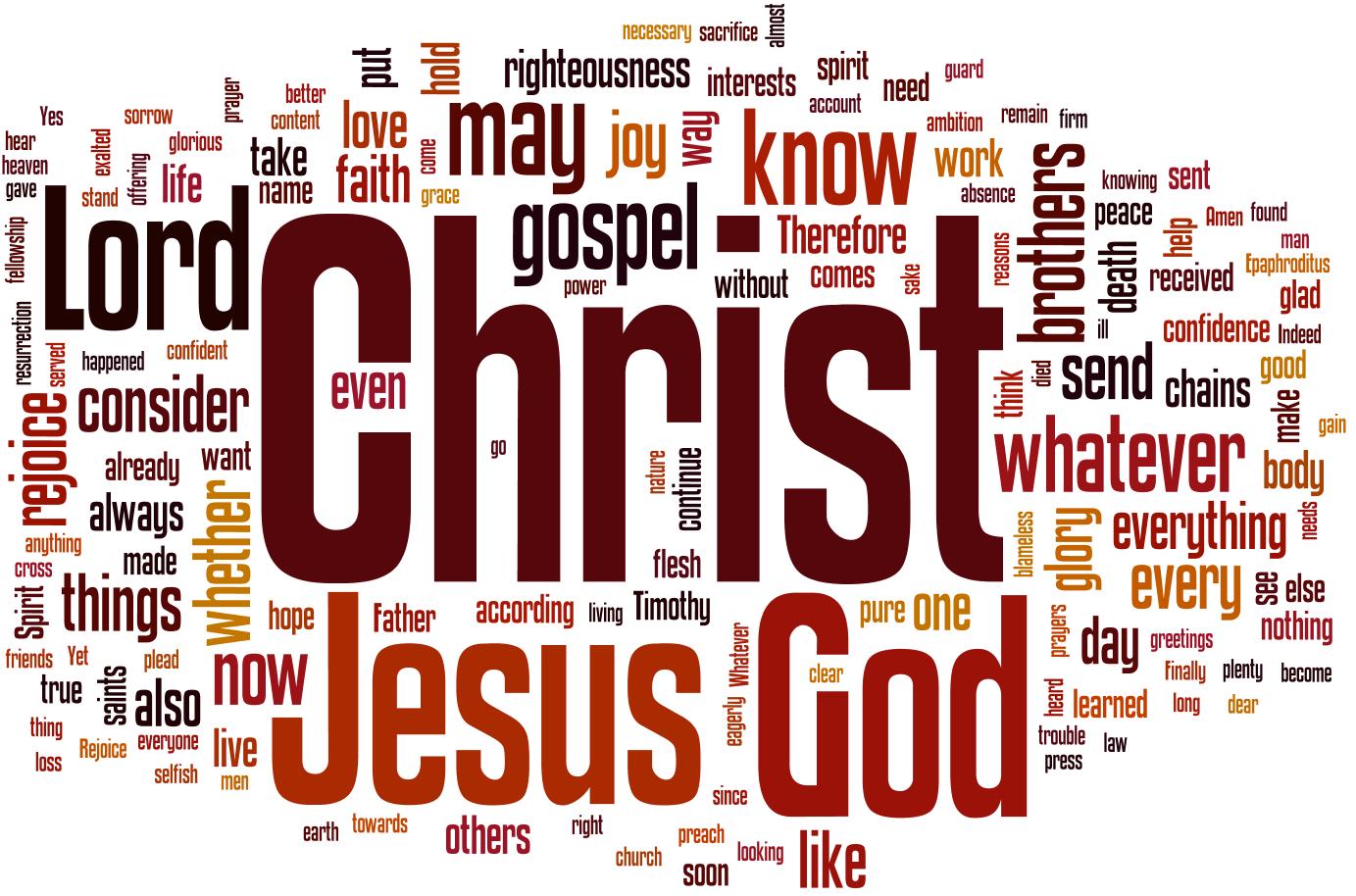 Wordle - Philippians