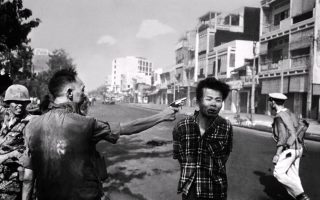 Playing with guns, shooting with guns: from Washington to Saigon?