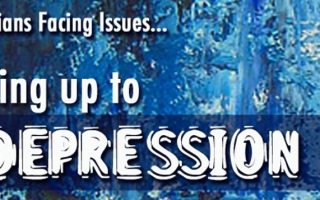 Facing up to Depression: so now it gets personal