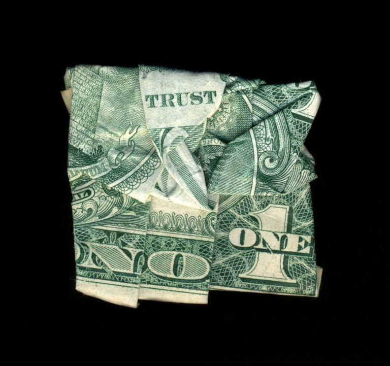 The subversive messages of a dollar bill