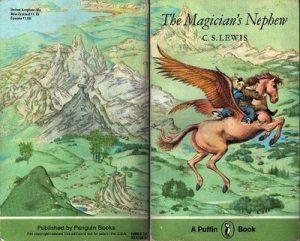 Pauline Baynes Narnia cover - Magician's Nephew