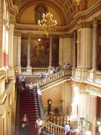 The FCO main staircase