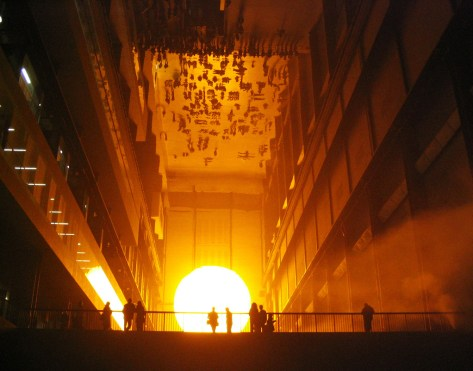 The Weather Project by Olafur Eliasson (Tate Modern 2004) taken by John Carter