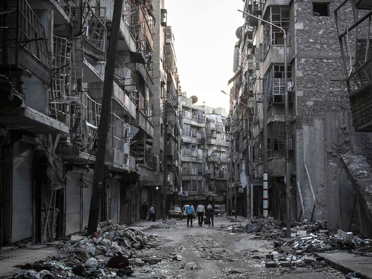 Wartorn faith: a conversation from the Aleppo front line (1)