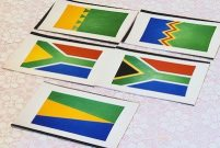 5 south african flags
