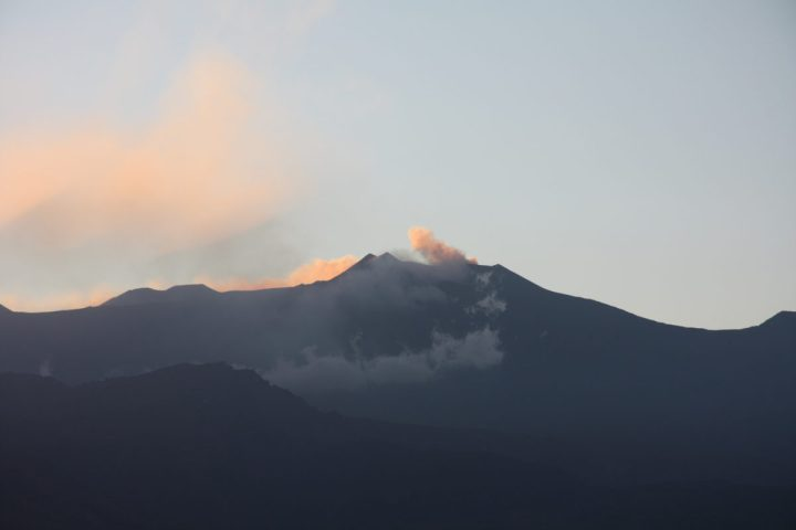 Mt Etna smoking (taken on a family holiday in 2011)
