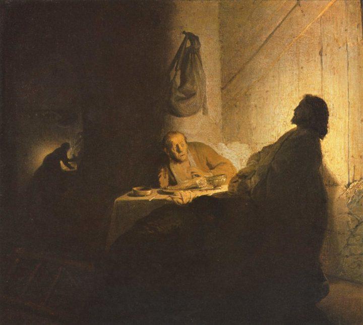Rembrandt - at Emmaus