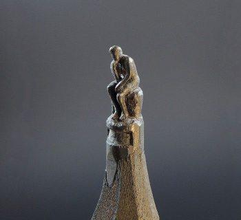 Rodin thinker by jasenko dordevic