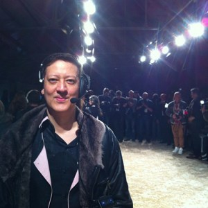 Mark Moore at Henry Holland Show
