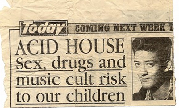 Mark Acid House Sex Drugs Cult Risk!