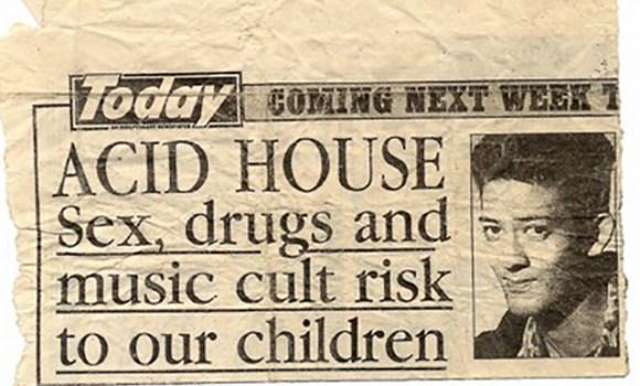 Mark Acid House Sex Drugs Cult Risk!