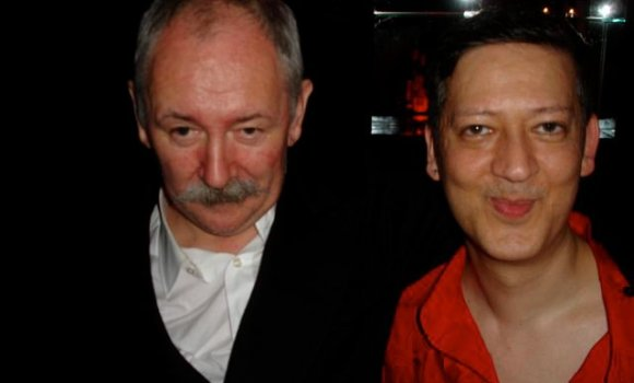Cerith Wyn Evans and Mark Moore