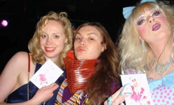Gwendoline Christie, Daniel Lismore, Michaela Marbella