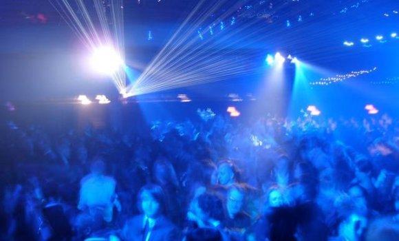 Tron Premiere Party Scene