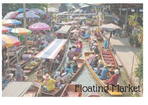 Floating Market Mark My Advneture