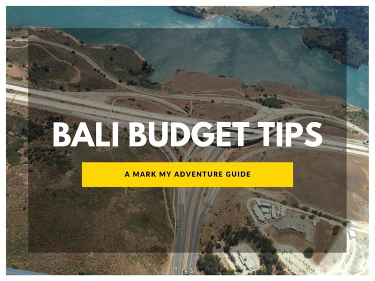 Bali Budget Tip Mark My Adventure