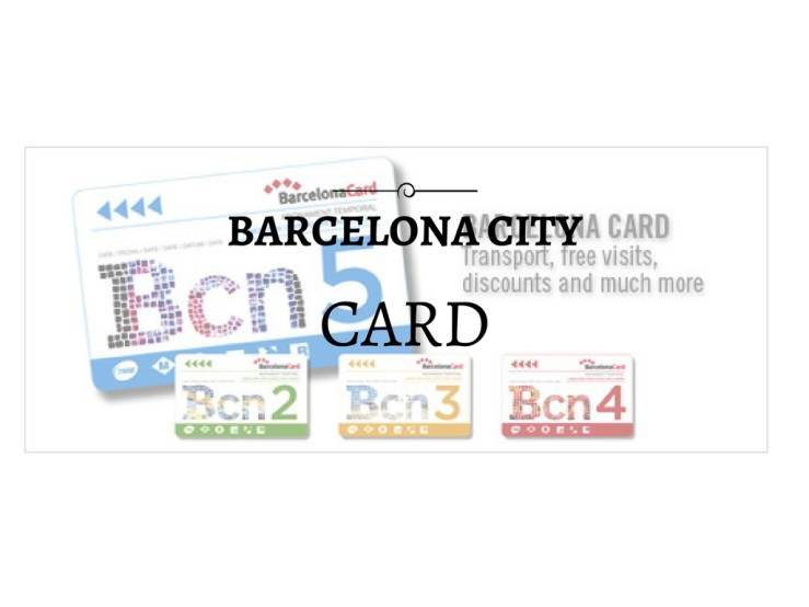 Barcelona city card Mark My Adventure