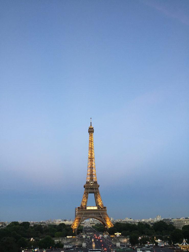 Eiffel Tower Mark My Adventure