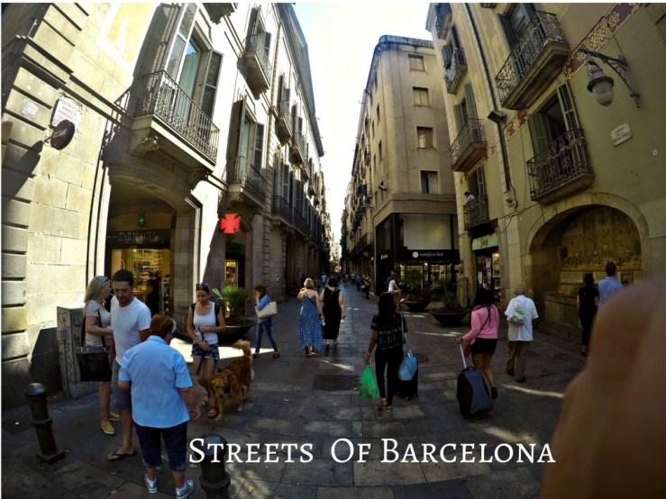Random Streets Barcelona
