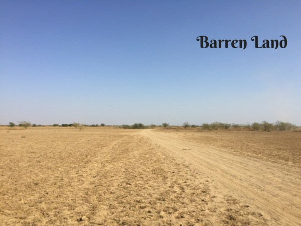 Barren Land Mark My Adventure