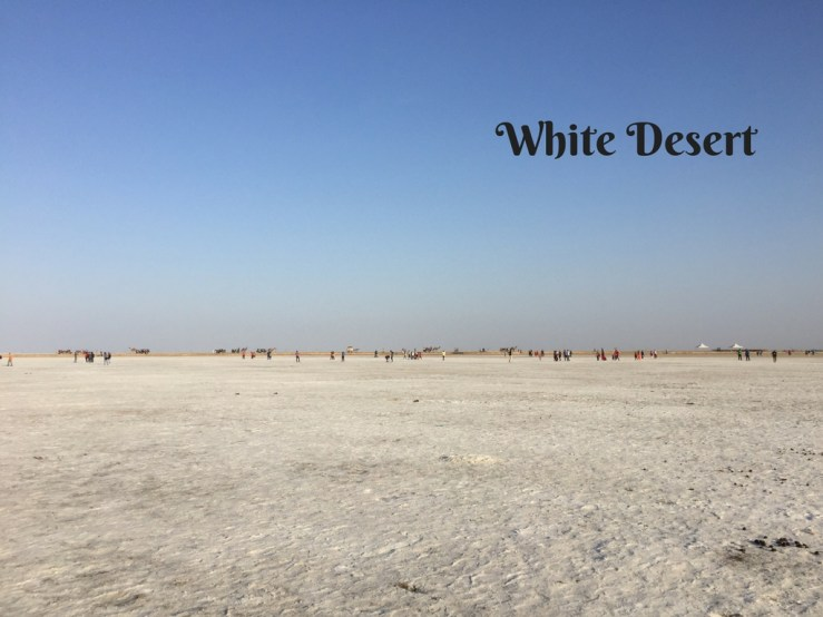 White Desert Mark My Adventure