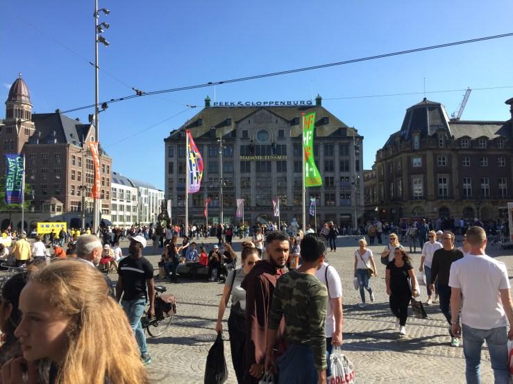 Amsterdam Central Mark My Adventure