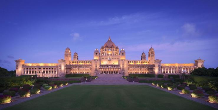 Umaid Bhavan Luxury Hotel In India
