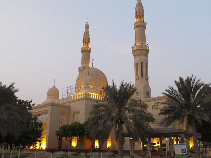Jumeirah Mosque Mark My Adventure