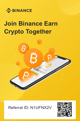 Binance Referral Mark My Adventure