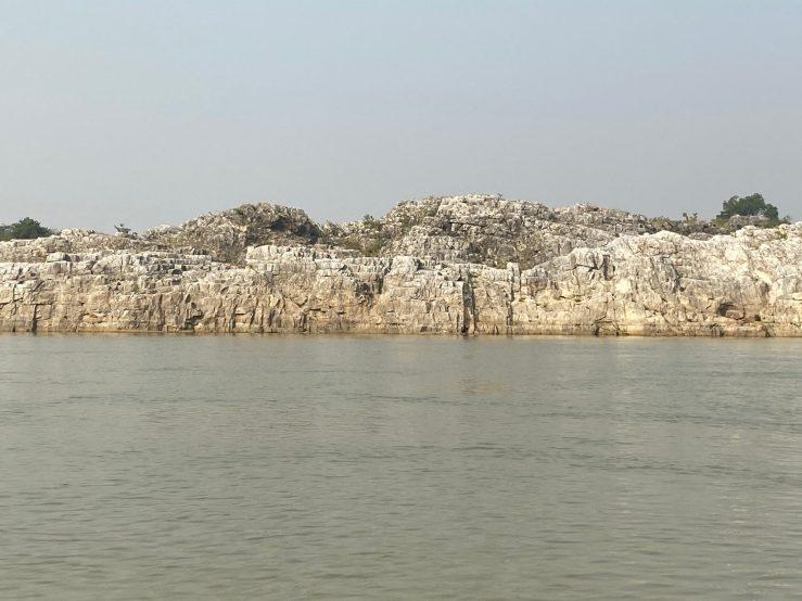 Grey Marble In Bhedhaghat