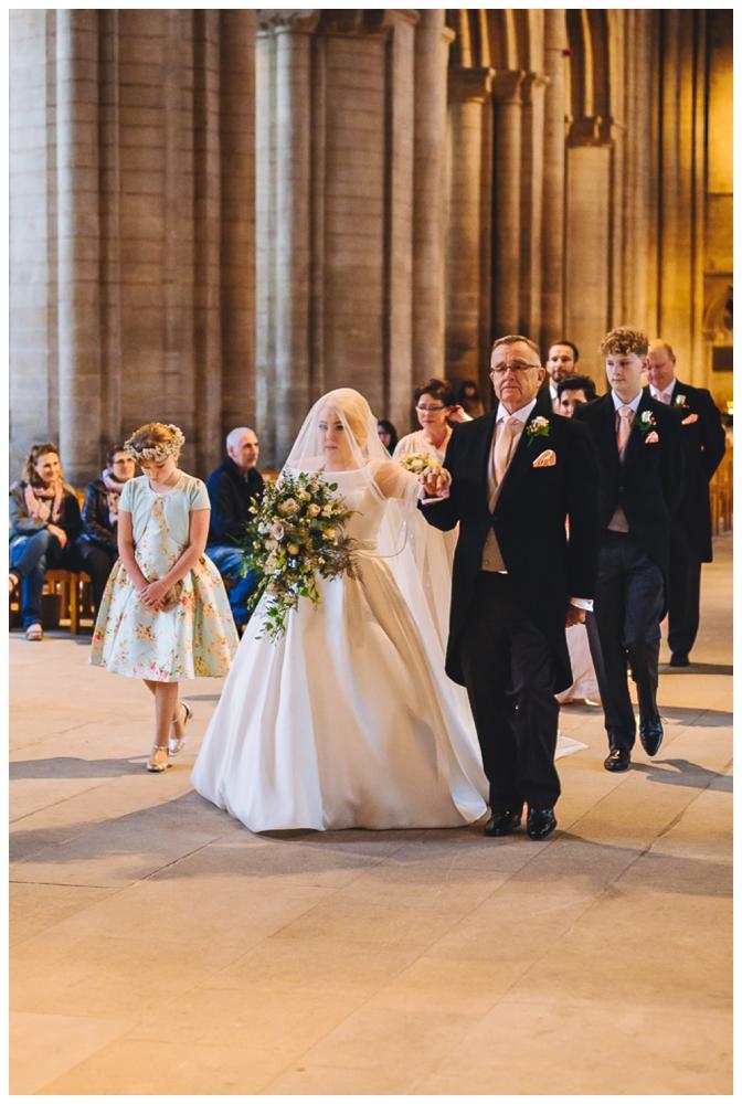Peterborough Cathedral Wedding