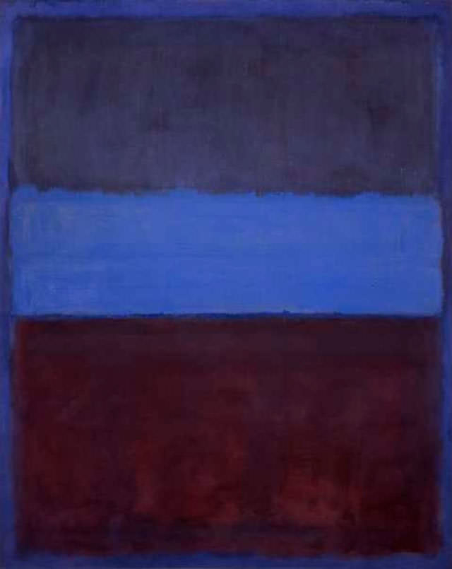 Mark Rothko Number 61