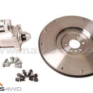 Flywheel & starter motor kit - LS V8 - 153T Flywheel