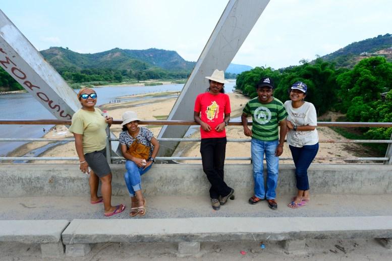 The University of Antananarivo quotient of the team; from left to right: Dr. Andolalao Rakotoarison (postdoc), Onja Randriamalala (master's student), Ricky T. Rakotonindrina (master's student), Rija (temporary student with us), and Safidy Malala Rasolonjavato (PhD candidate)