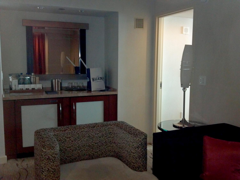Aria Las Vegas Corner Suite Floor